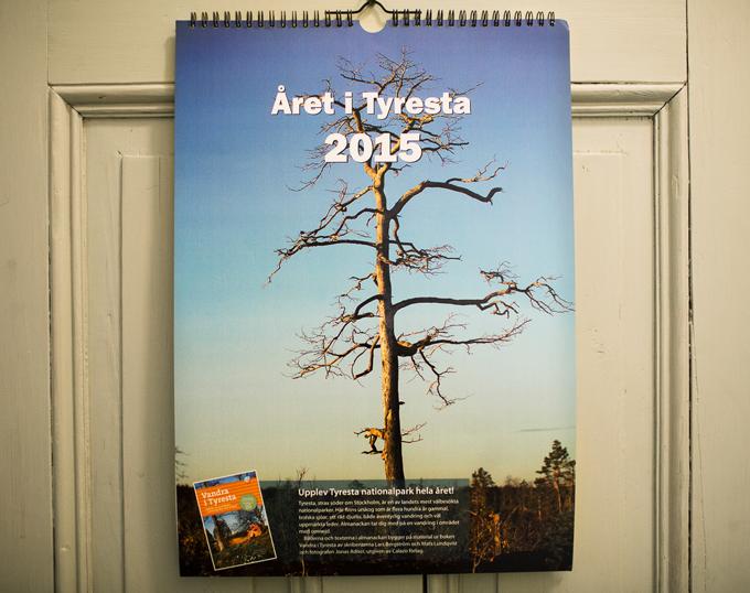 Kalender för Tyresta 2015