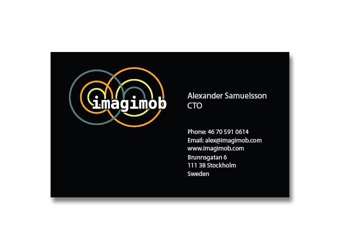 Logo och webb för Imagimob